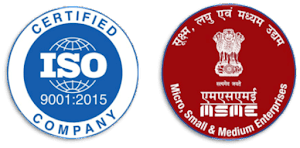 ISO Certified and MSME Registered