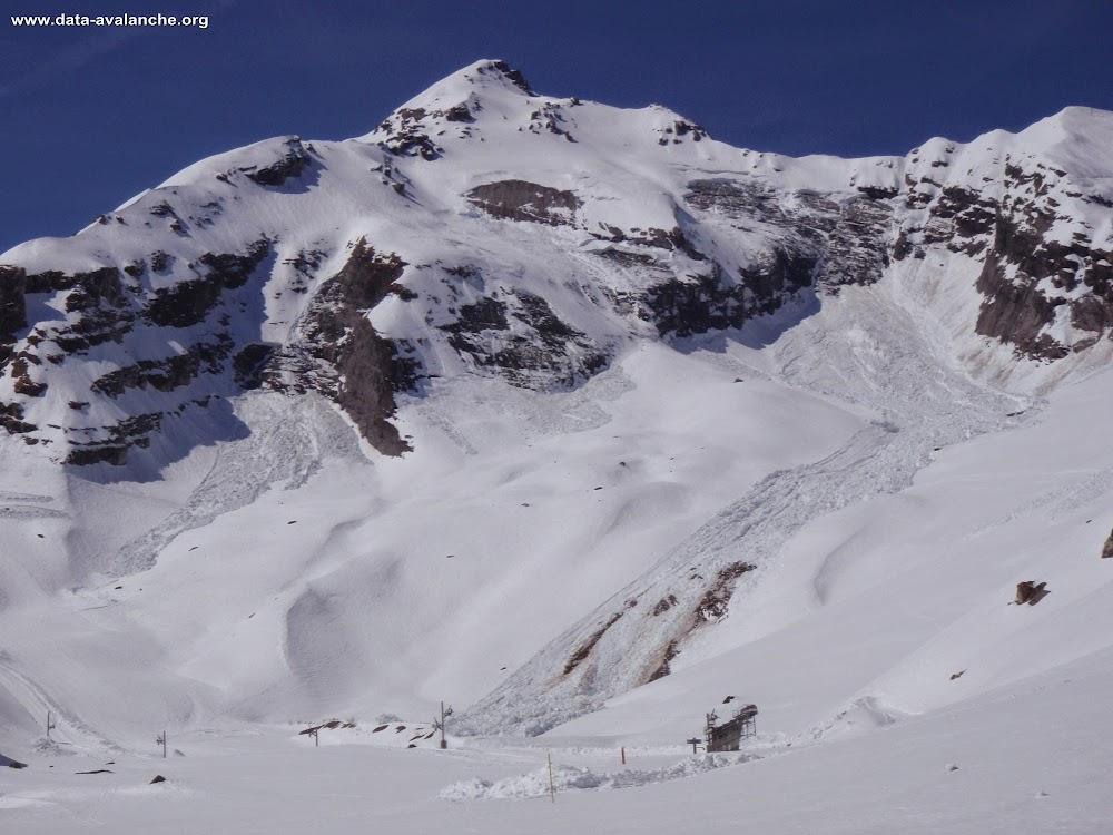 Avalanche Valais, secteur Dent Favre, Ovronaz ; Blettes de Bougnone - Photo 1 - © Detry Yves