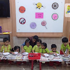 Introduction to Circle by Nursery Evening Section at Witty World, Chikoowadi