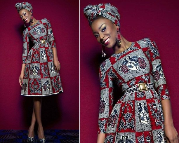 AFRICAN PRINT DRESSES AND STYLES WILL SLANT IN 2019 2