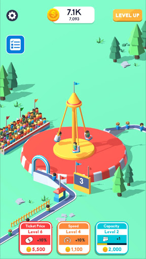 Idle Swing Ride mod apk 0.1 screenshots 1