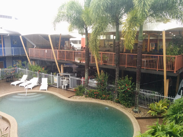 Northern Greenhouse hostel at Cairns