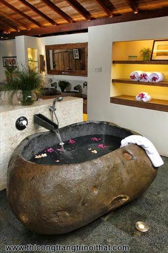 """18 chiếc bồn tắm cực """"cool"""" khiến bạn chìm đắm mãi không rời - Thi công trang trí nội thất-6"""
