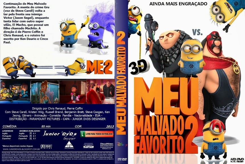 Baixar Filme  Meu Malvado Favorito 2 (Despicable Me 2) (2013) BDRip AVi Dublado