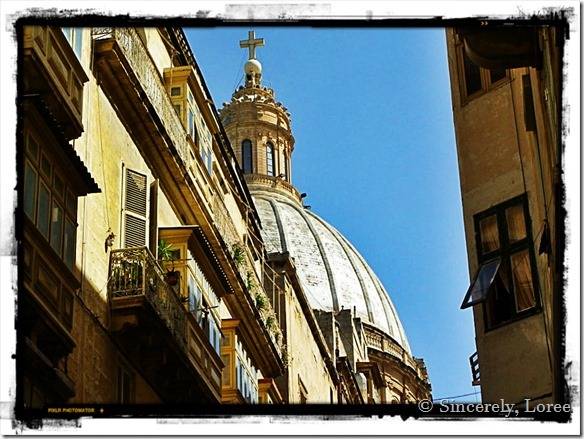 Basilica of Our  Lady of Mt Carmel, Valletta