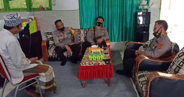 Jaga Harkamtibmas, Satbinmas Polres Soppeng Silaturahmi Dengan Para Tokoh Agama