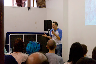 Photo: Alex May on indie game dev and Tai Chi