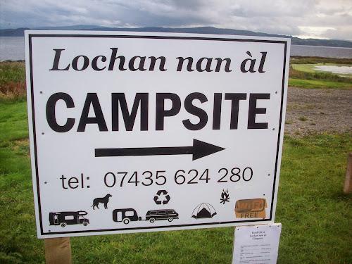 Lochan nan al at Lochan nan al, Campsite.