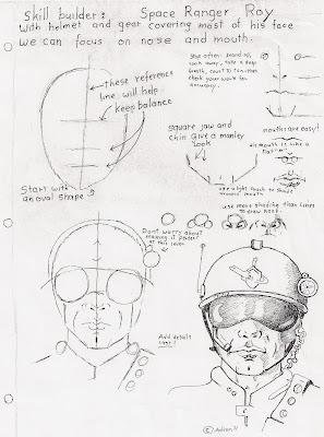 Adron's Art Lesson Plans: March 2011