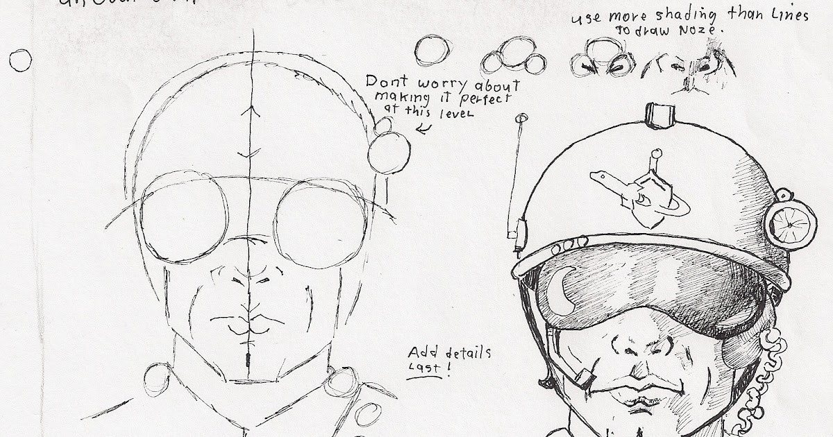 Adron's Art Lesson Plans: How to Draw a Space Ranger