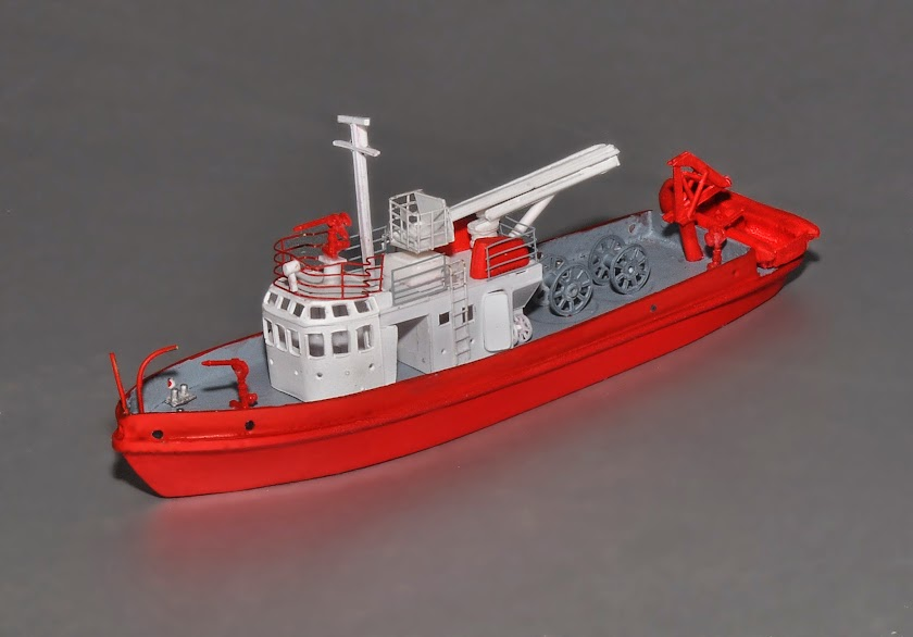 N Scale Ships 81' Fireboat Available May 21   TrainBoard com - The