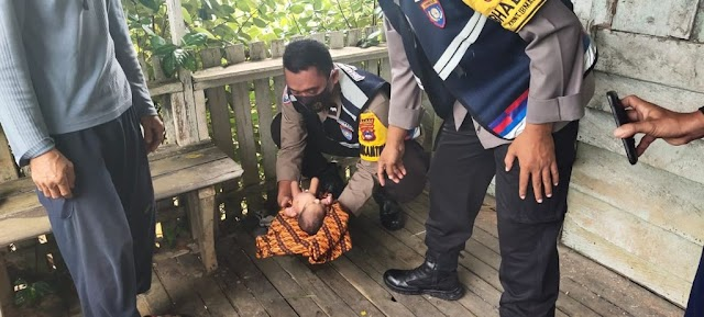 Bayi Berumur 5 Hari Ditemukan di Pondok Tepi Jalan