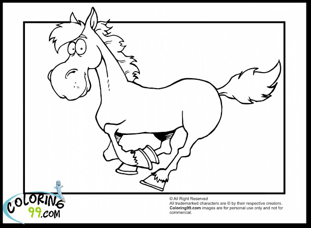 Surprising Cute Cartoon Horse Coloring Pages With Horse Coloring Page And Horse  Coloring Pages Jumping