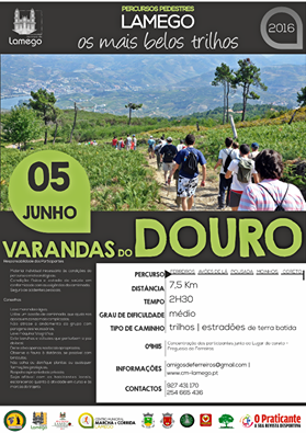 "Percorra a pé as ""Varandas do Douro"""