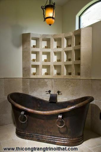 """18 chiếc bồn tắm cực """"cool"""" khiến bạn chìm đắm mãi không rời - Thi công trang trí nội thất-7"""