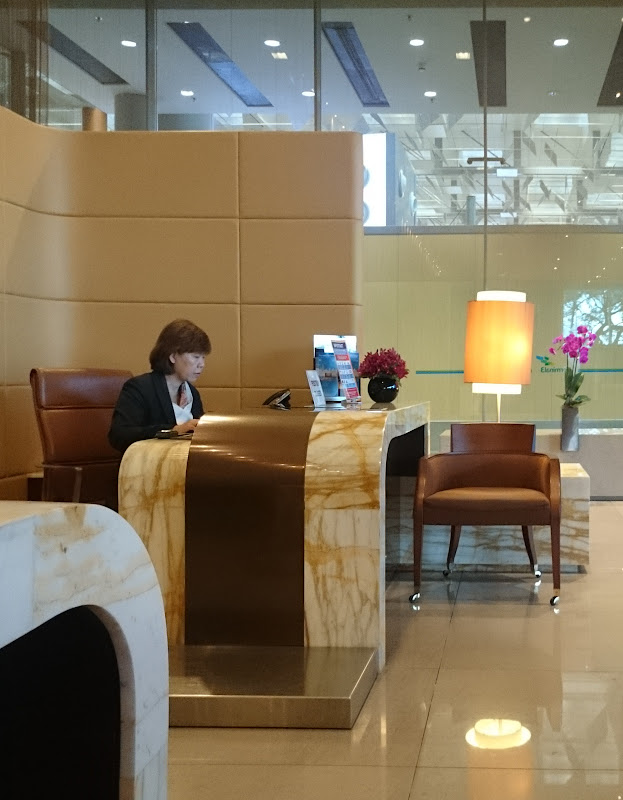 SIN%252520PVG 3 - REVIEW - Singapore Airlines : The Private Room First Class Lounge [Breakfast Service], SIN T3