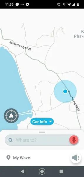 بدائل خرائط جوجل Waze