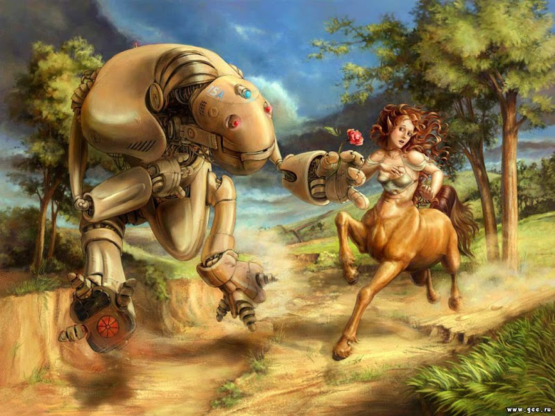 Robot And The Centaur, Fiction 2