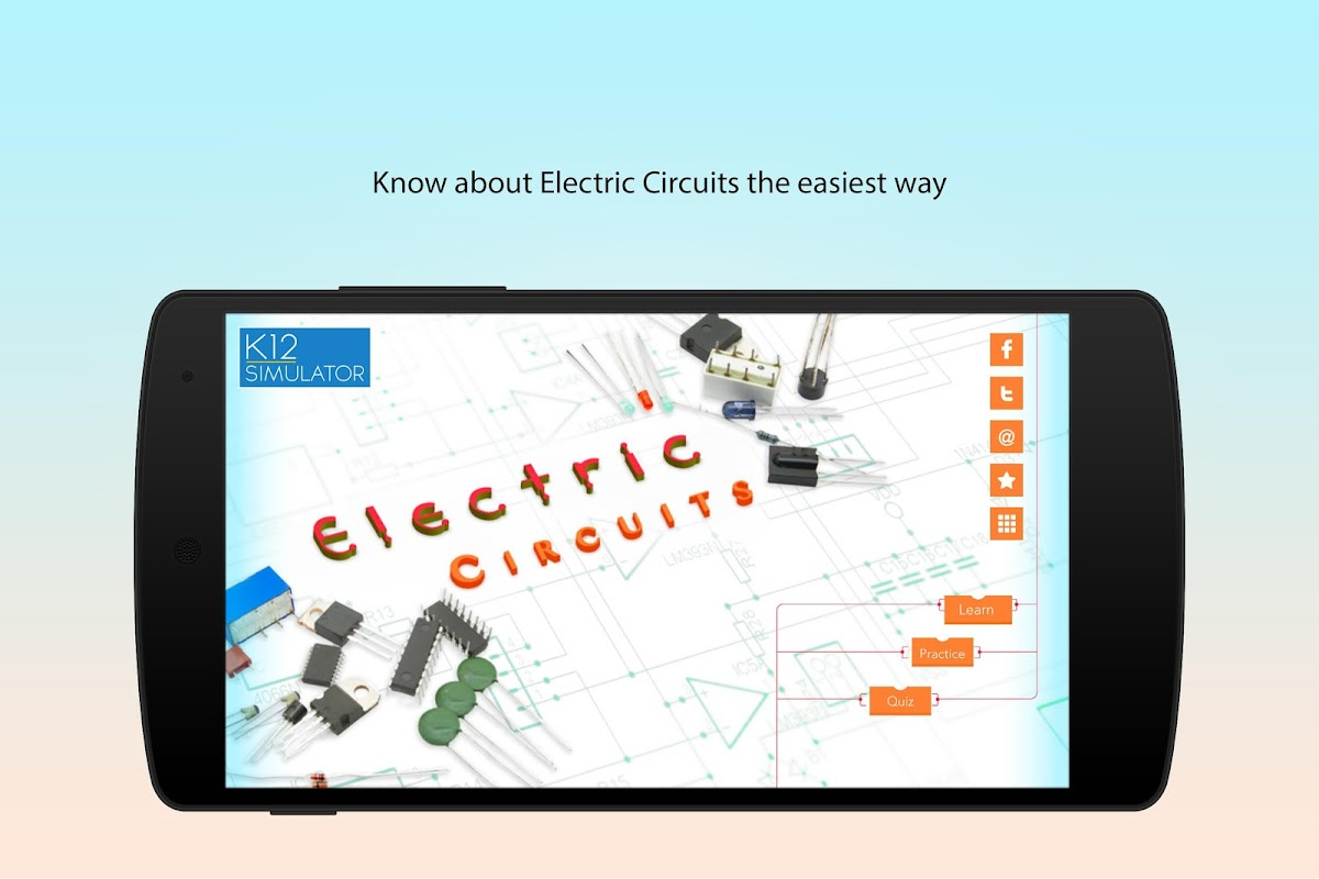 Electric Circuit Simulation APK 2.0 Download - Free Education APK ...