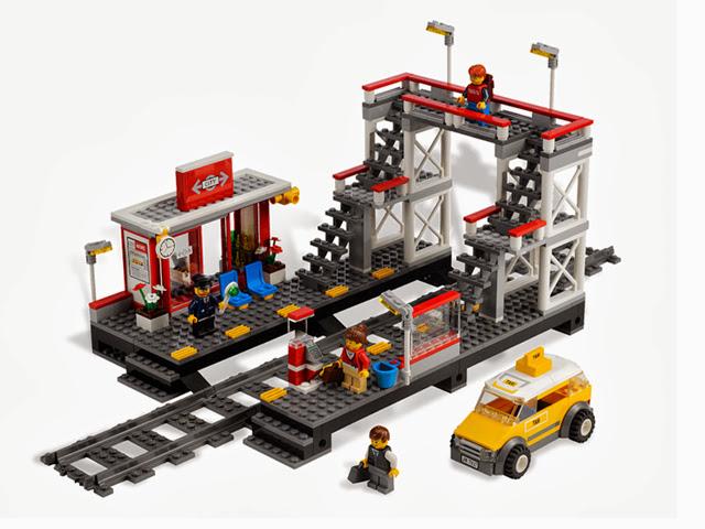 7937 レゴ シティの駅