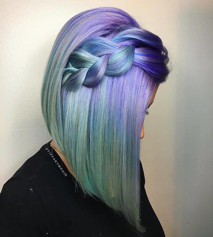 Popular Amp Magical Mermaid Hair Ideas For 2018 Summer
