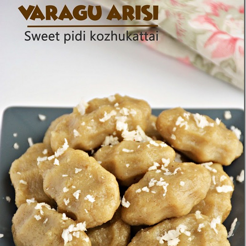 Varagu arisi sweet pidi kozhukattai / Kodo millet sweet dumplings with video