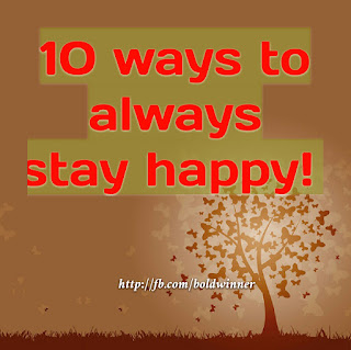 10 surefire ways to be happy