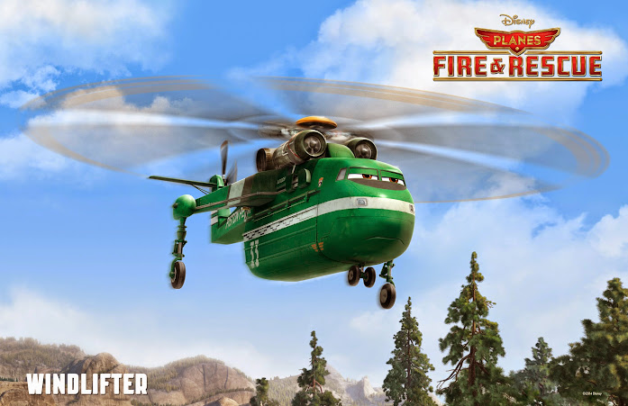 Disney Planes: Fire & Rescue -Windlifter (Planes Fire and Rescue)