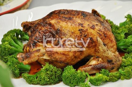 Mantarlı Biberli Tavuk Dolması