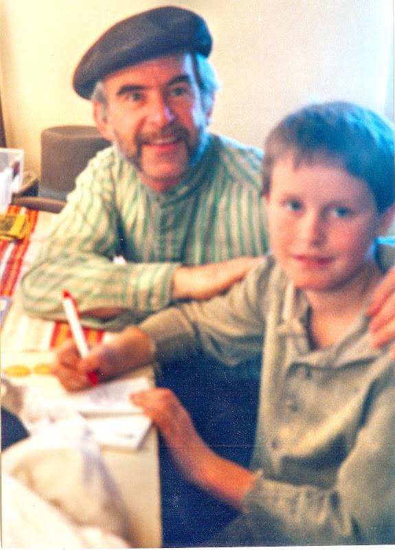 Radu with Connor Fatch in Oliver!