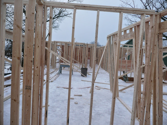 Building of new home in Waukesha, WI - P1030350.JPG