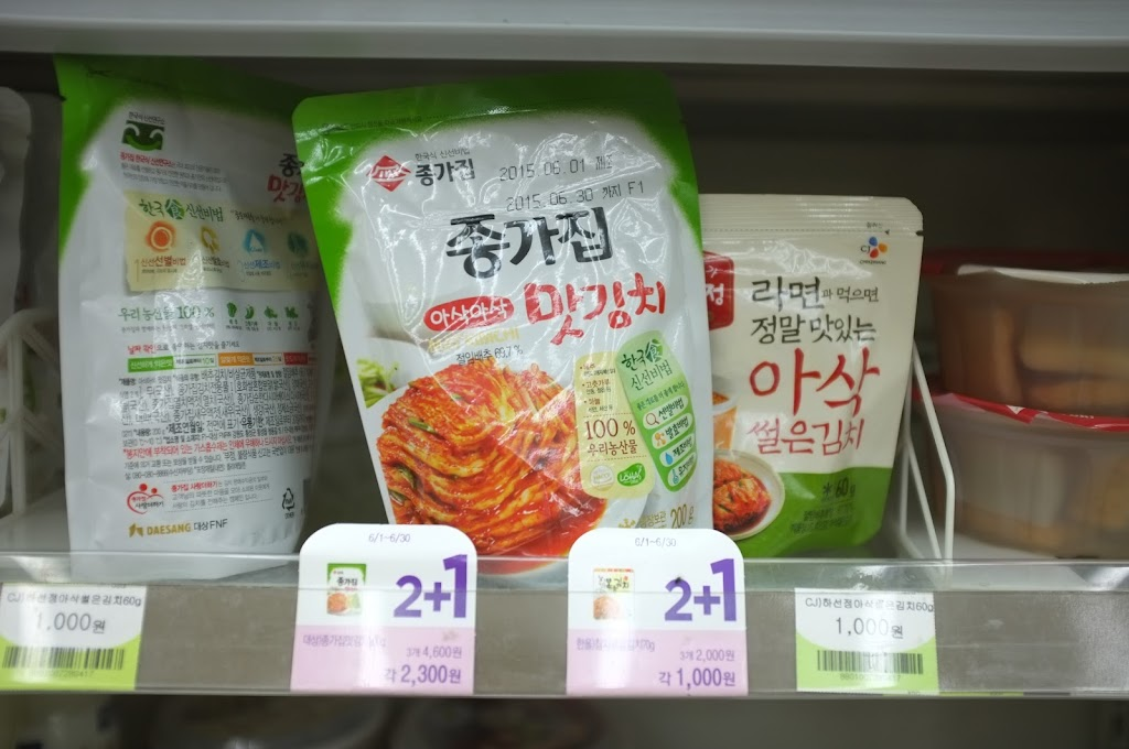 convenience store in Seoul