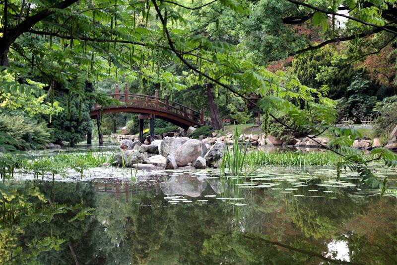 Jardín japonés en el Parque Szczytnicki