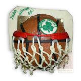 33. kép: Formatorták (fiúknak) - Kosárlabda torta hálóval