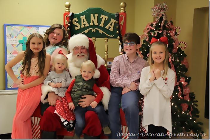 Santa and our grandchildren