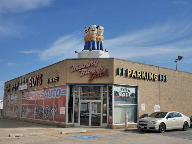 Manny, Moe, & Jack auto tire store in Baltimore Country
