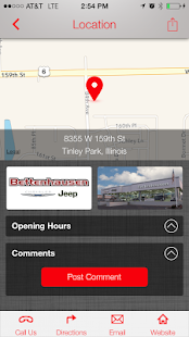 Bettenhausen Chrysler Jeep- screenshot thumbnail