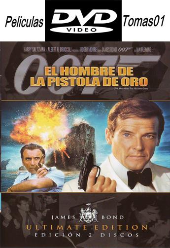 007 (9): El hombre del revólver de oro (1974) DVDRip