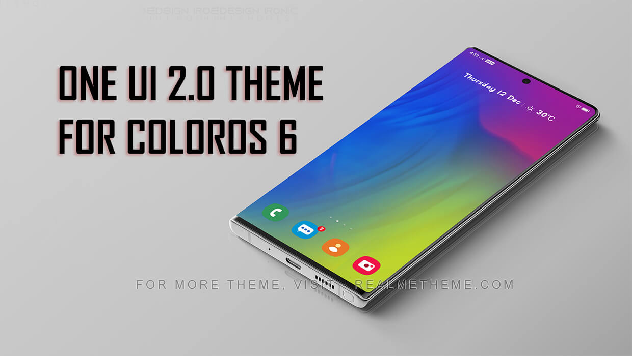 OneUI 2.0 Theme for ColorOS 6 Devices