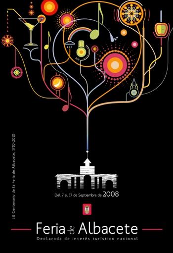 Cartel Feria Albacete 2008