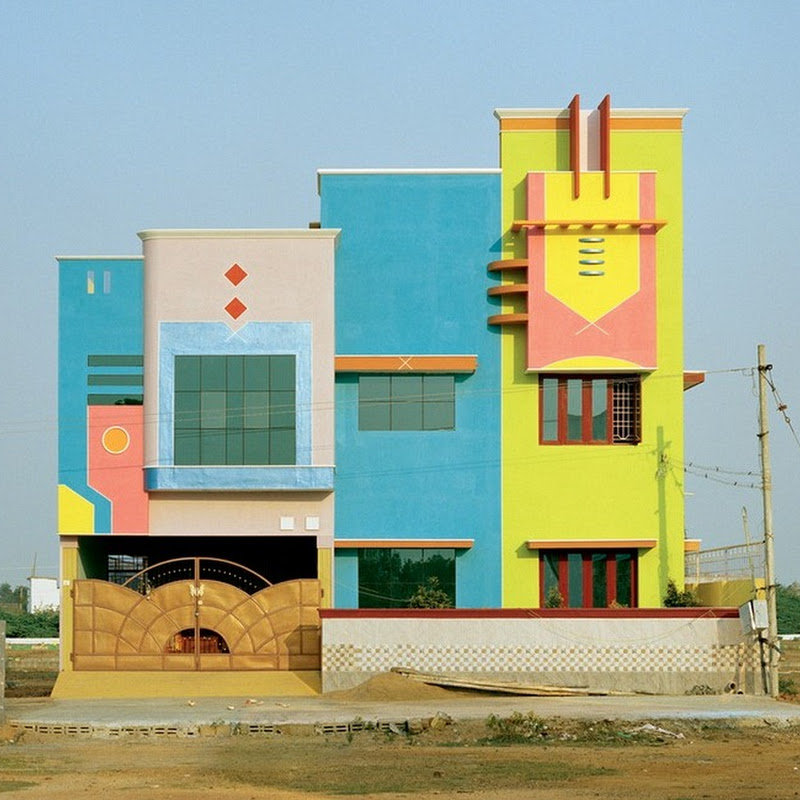 The Gaudy South Indian Houses That Inspired Ettore Sottsass
