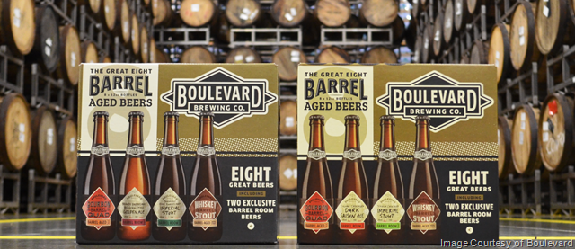 Boulevard Releasing Two Barrel-Aged Great Eight Sample Packs