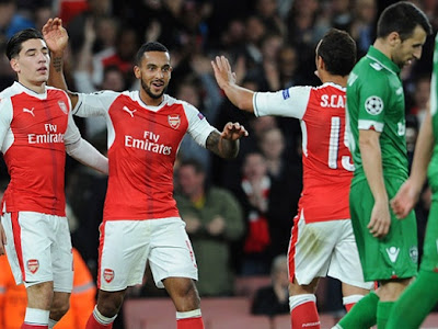 Arsenal fans fear the worst following injury blow