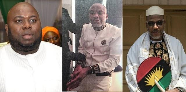 """I Promised I'll Smoke You Out""- Asari Dokubo Mocks Nnamdi Kanu Over Arrest"