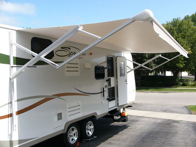 Heres The AE Dometic 8500 Manual Awning I Installed To Replace That Awful Carefree