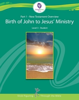 Part 1 New Testament Overview Birth of John to Jesus Ministry Level 3