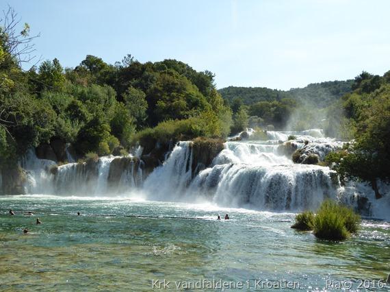 Krk vandfaldene i Kroatien