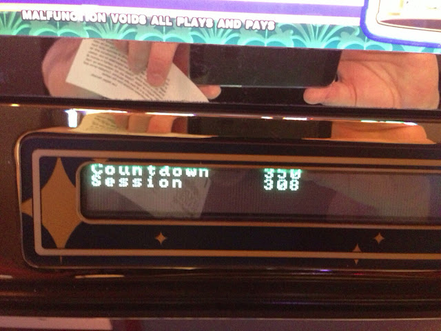 Golden Nugget Slot Club counter