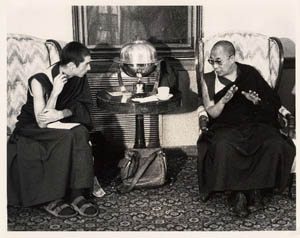 Alan Wallace With Dalai Lama At Amherst College, Alan Wallace