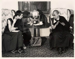 Alan Wallace With Dalai Lama At Amherst College